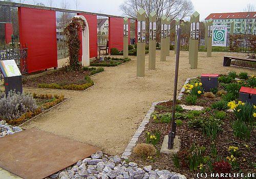 Im Bürgerpark von Wernigerode