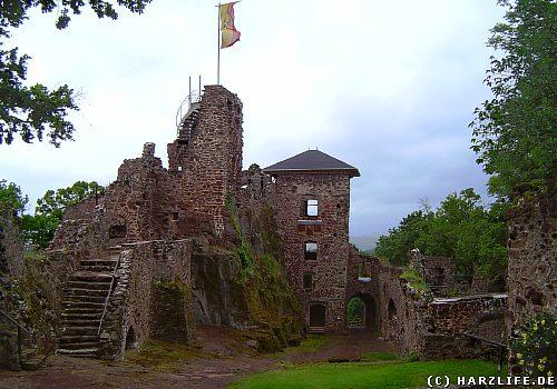 Die Burgruine Hohnstein