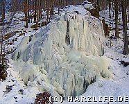 Der eingefrorene Radaufall