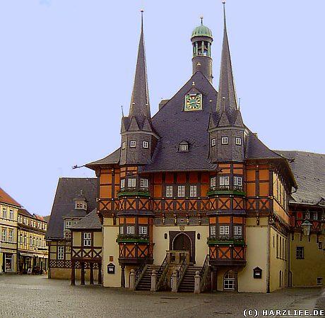 Das Rathaus von Wernigerode