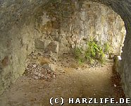 Felsenraum auf der Oberburg