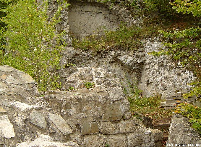 Burgruine Scharzfels - Auf der Oberburg