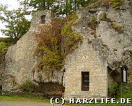 Burgruine Scharzfels - Das Brunnenhaus