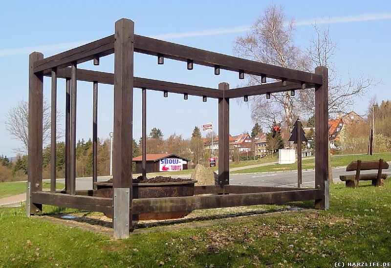 Das Wilhelm-Trute-Denkmal in St. Andreasberg