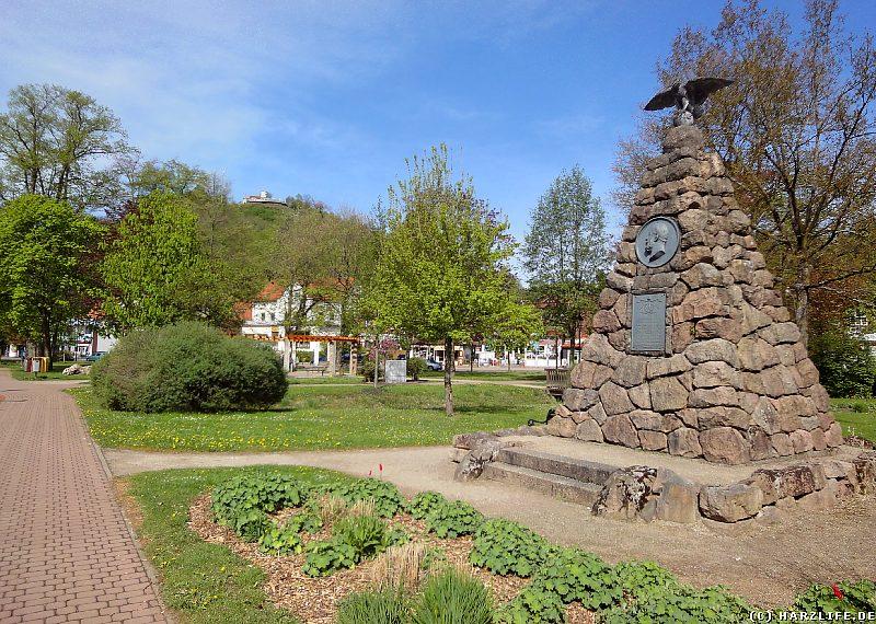 Der Kleine Kurpark in Bad Lauterberg