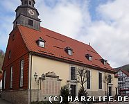 Die St.-Andreas-Kirche in Bad Lauterberg
