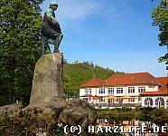 Das Wissmann-Denkmal in Bad Lauterberg