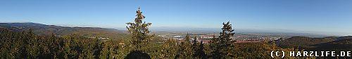 Rundblick vom Kaiserturm auf dem Armeleuteberg