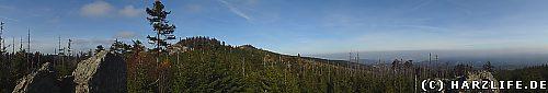 Aussicht von der Bärenklippe