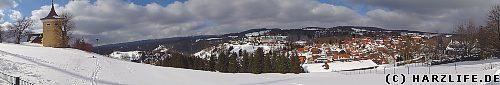 Blick vom Glockenberg auf St. Andreasberg